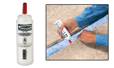 how to seal edge of cut carpet